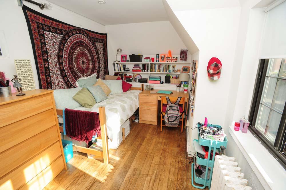 Curtis dorm room