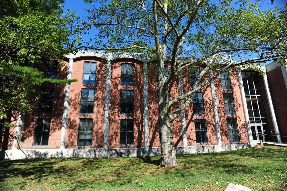 Rothschild dorm building exterior