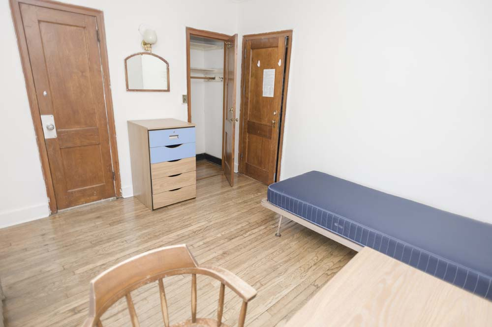 Titsworth dorm room closet