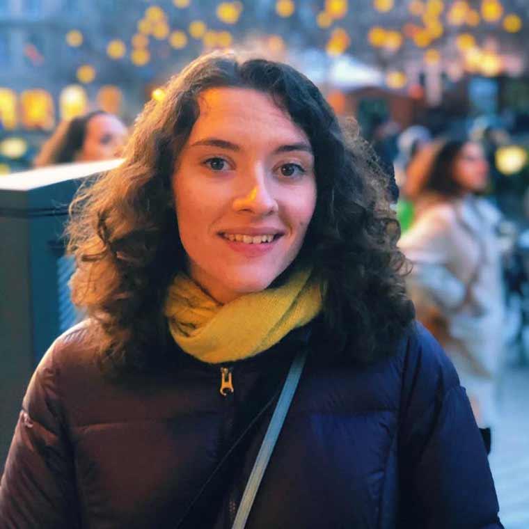 Portrait of Emily Stout