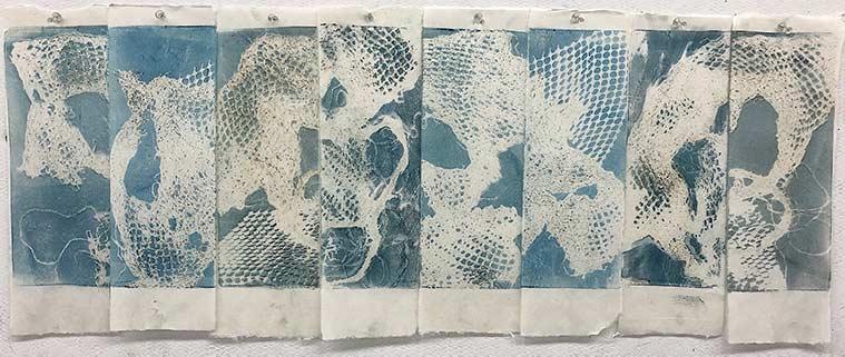 Samuels eight monotype prints